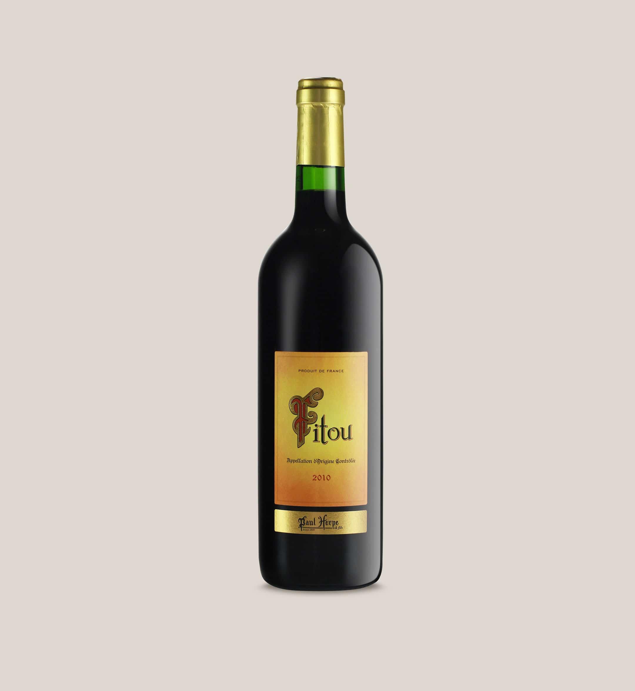 Paul Herpe AOC Fitou bouteille vin rouge