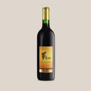 Paul Herpe AOC Fitou - bouteille de vin rouge