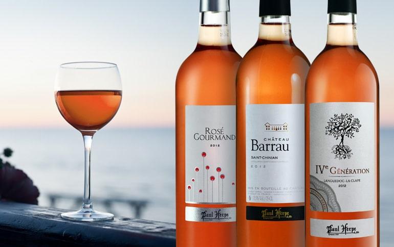 Paul Herpe vacances et vins rosés